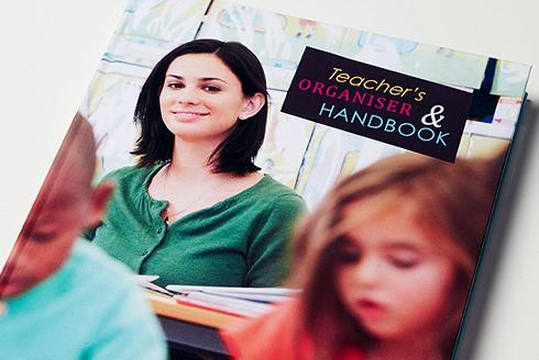 Teachers handbook printed by Lettertec